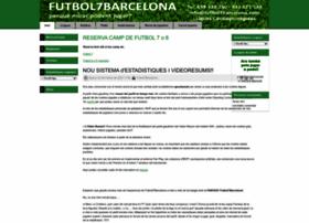 Futbol7barcelona.com thumbnail