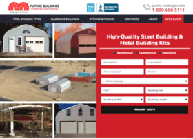 Futurebuildings Com At Wi Prefabricated Steel Metal Buildings Canada Usa Future Buildings