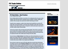 Fx trade online
