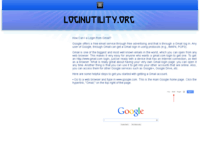 G.loginutility.org thumbnail