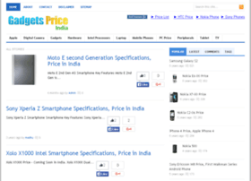 Gadgetspriceindia.com thumbnail