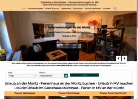 Gaestehaus-mueritzsee.de thumbnail
