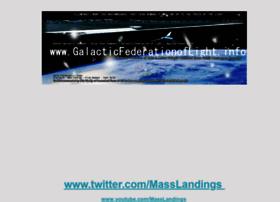 Galacticfederationoflight.info thumbnail