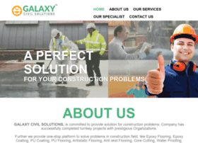 Galaxycivilsolutions.com thumbnail