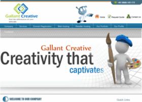 Gallantcreative.in thumbnail