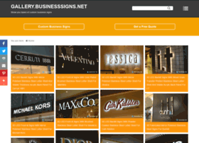 Gallery.businesssigns.net thumbnail
