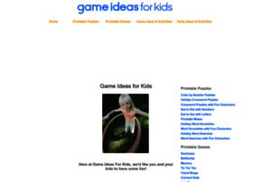 Gameideasforkids.com thumbnail
