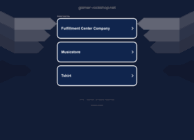 Gamer-rockshop.net thumbnail