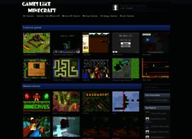 Gameslikeminecraft.net thumbnail