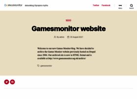 Gamesmonitor.org.uk thumbnail