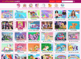 Gamesmylittlepony.com thumbnail