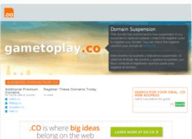 Gametoplay.co thumbnail