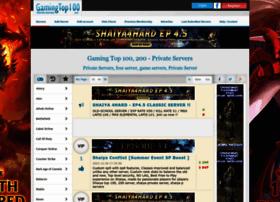 Gamingtop100.net thumbnail