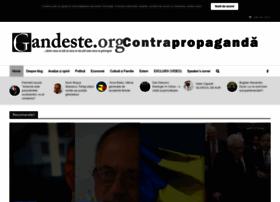 Gandeste.org thumbnail