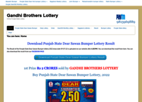 Gandhibrotherslottery.com thumbnail