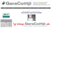 Garacomp.sk thumbnail