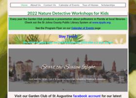 Gardenclubofstaugustine.org thumbnail