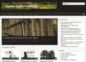 Gardendecoressentials.com thumbnail