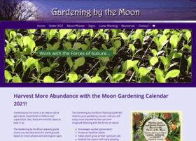 At Wi Gardening By The Moon Planting Guide Moon Gardening Calendar 2018
