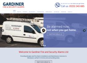Gardineralarms.co.uk thumbnail