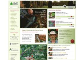 Gartenbedarf Ward gartenbedarf-versand.de at wi. gartenbedarf-versand, richard ward