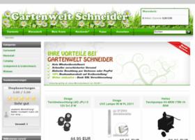 Gartenwelt-schneider.de thumbnail