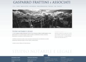 Gasparrofrattinilex.it thumbnail
