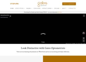 Gatesoptometrists.co.nz thumbnail