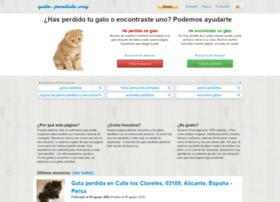 Gato-perdido.org thumbnail