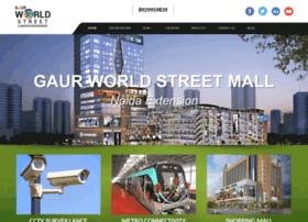 Gaurworldstreetnoida.co.in thumbnail