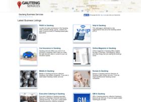 Gautengservices.co.za thumbnail