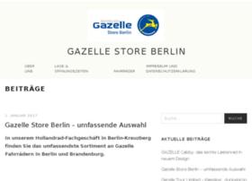 Gazelle-store-berlin.de thumbnail