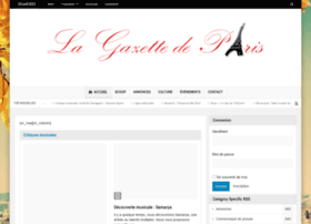 Gazetteparis.fr thumbnail