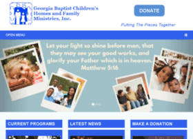 Georgia Baptist Children's Homes and Family Ministries, Inc.