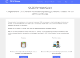 Gcseguide.co.uk thumbnail