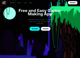 gdevelop-app com at WI  GDevelop - Create games without