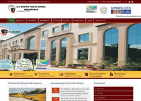 Gdgoenkaschoolindirapuram.com thumbnail