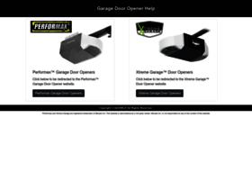 Garage Xtreme Garage Door Opener Programming