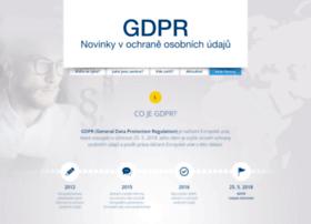 Gdpr2018.cz thumbnail