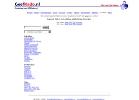 Geefkado.nl thumbnail