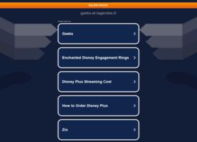 Geeks-et-legendes.fr thumbnail