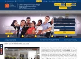 Geetaengineeringcollege.in thumbnail