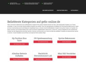Gefis-online.de thumbnail