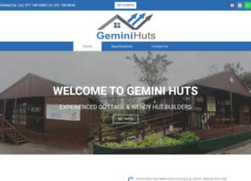 Geminihuts.co.za thumbnail