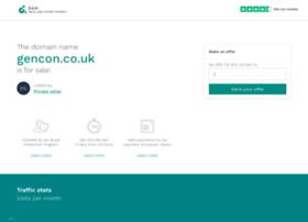 Gencon.co.uk thumbnail