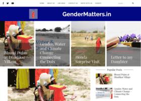 Gendermatters.in thumbnail