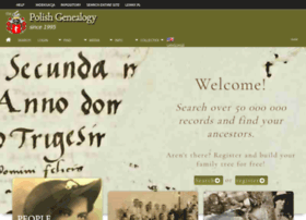 Genealogiapolska.pl thumbnail