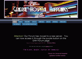 Generalhospitalhappenings.com thumbnail