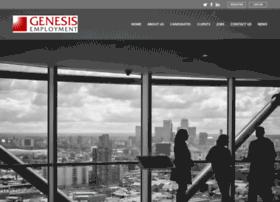 Genesis-employment.co.uk thumbnail