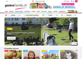 Genevefamille.ch thumbnail